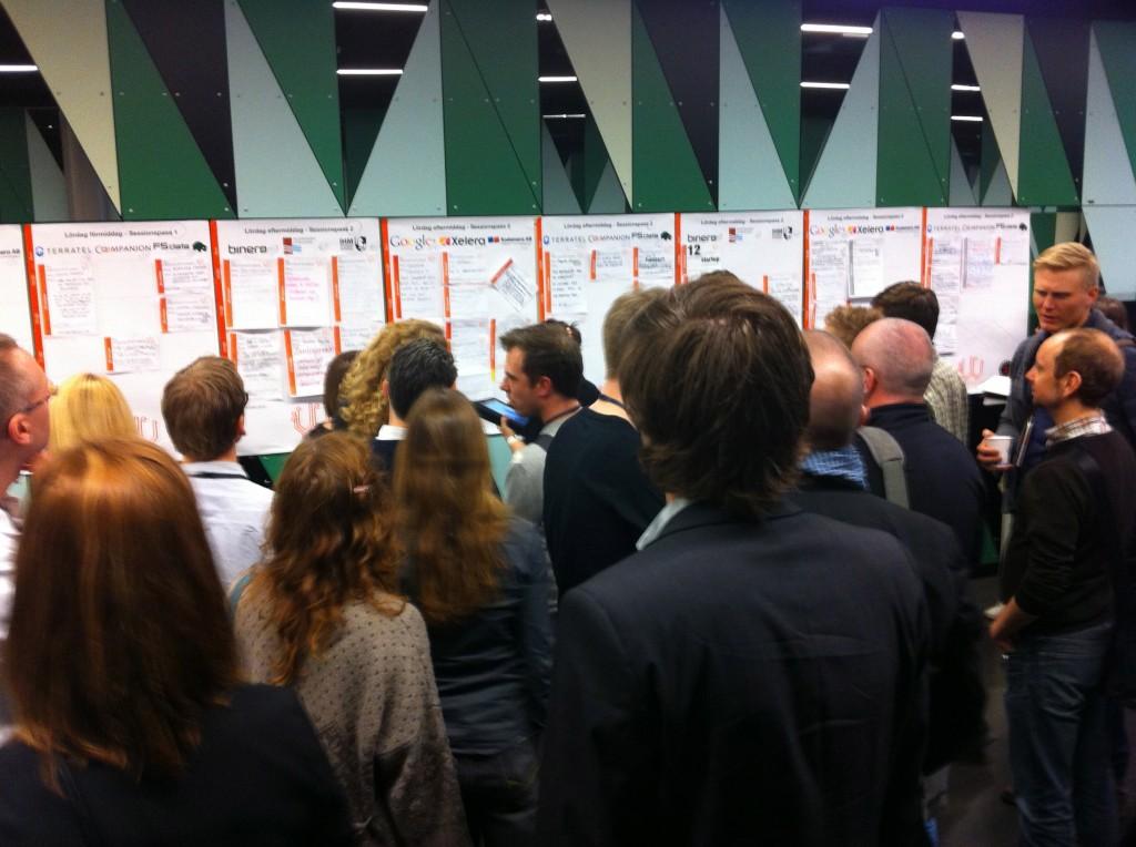 Gridden på Webcoast 2012